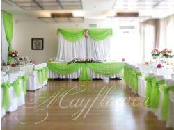 Свадьба в зеленом цвете фото
