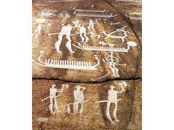 Рисунки на скалах древних людей