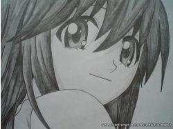 Легкие рисунки аниме карандашом
