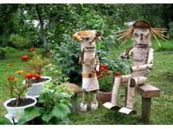 Фото поделок своими руками для сада