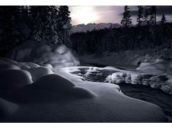 Картинки со снегом красивые