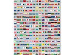 Флаги картинки стран