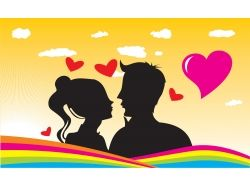Красивые картинки влюбленных пар