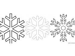 Картинки снежинки для детей