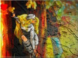 Фото осень и любовь