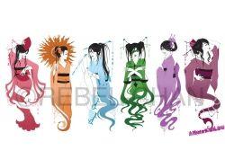 Знаки зодиака картинки аниме