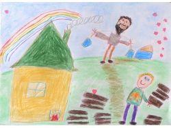 Детские рисунки людей