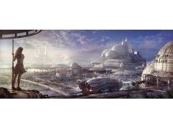 Картинки города будущего