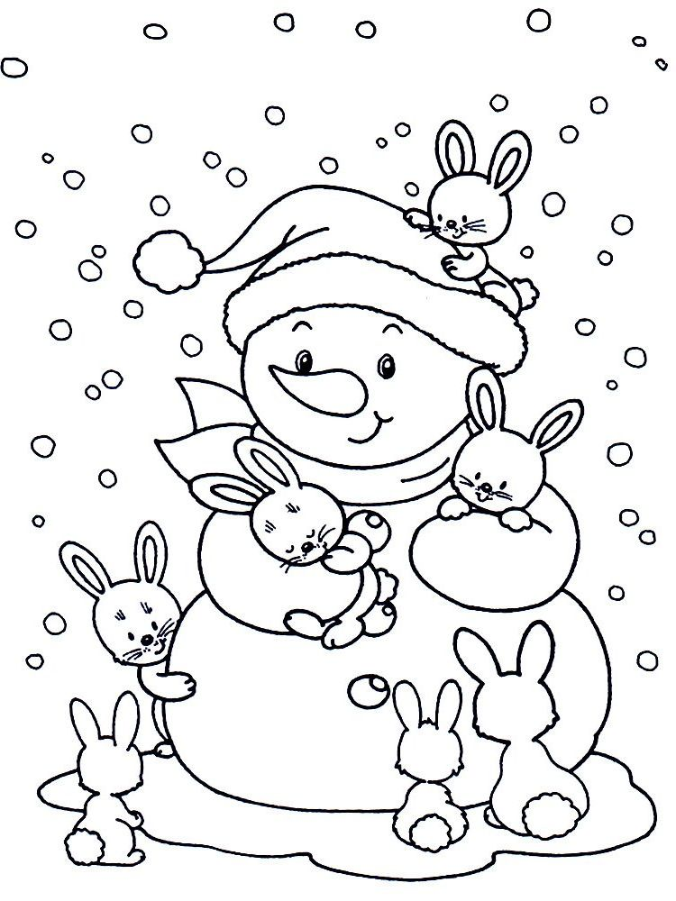 Картинки раскраски для детей 3 лет » Скачать лучшие ...