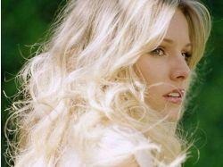 Красивые картинки девушки блондинки (лицо)