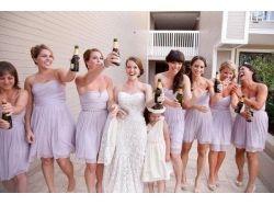Сиреневая свадьба фото