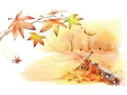 Детские рисунки на тему осень 3 класс