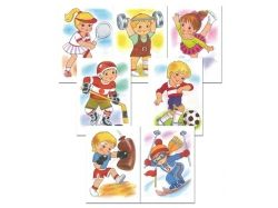Детские спорт картинки