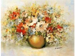 Цветы картины известных художников
