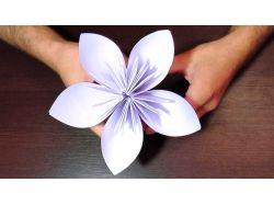 Поделки из бумаги цветы фото