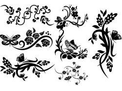 Узоры картинки цветы