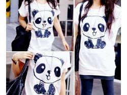 Рисунки на футболке батик