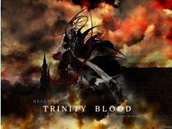 Аниме картинки кровь