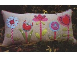 Лоскутное шитье подушки фото