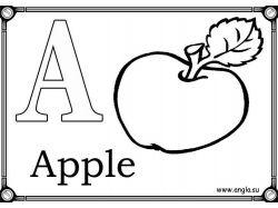 Алфавит в картинках для детей распечатать