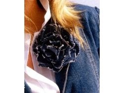 Поделки из джинсовой ткани фото