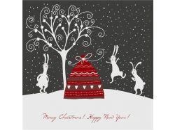 Креативные открытки с новым годом 2013