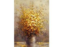 Цветы картины живопись
