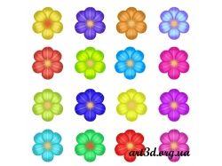 Картинки цветы детские