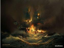 Корабли парусные картинки