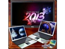 Обои на рабочий стол новый год 2014