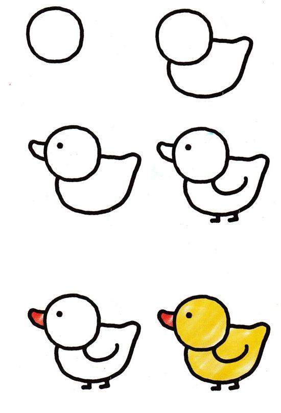 Как научится рисовать легкие рисунки
