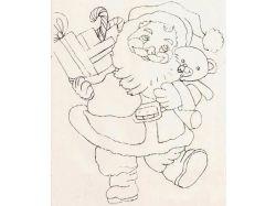 Новогодние рисунки карандашом фото