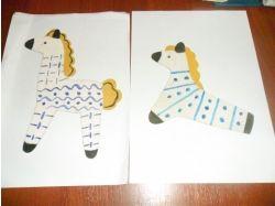 Нод на тему дымковская игрушка работы детей картинки