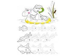 Картинки подводный мир для детей