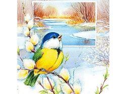 Картинки на тему крымсакя весна рисунки детей