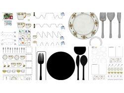 Чайная посуда картинки для детей