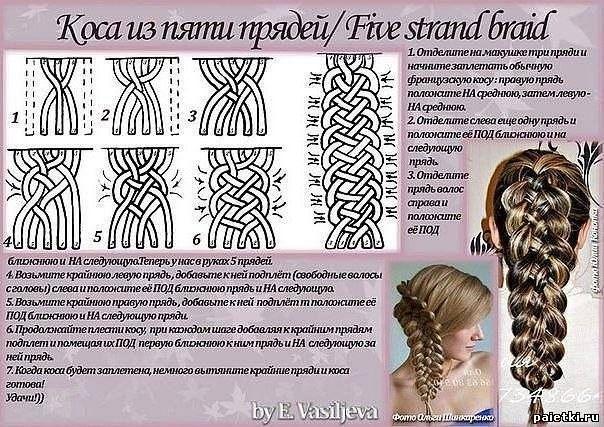 Колосок коса как плести пошаговая инструкция