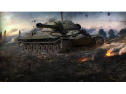 Обои на телефон world of tanks
