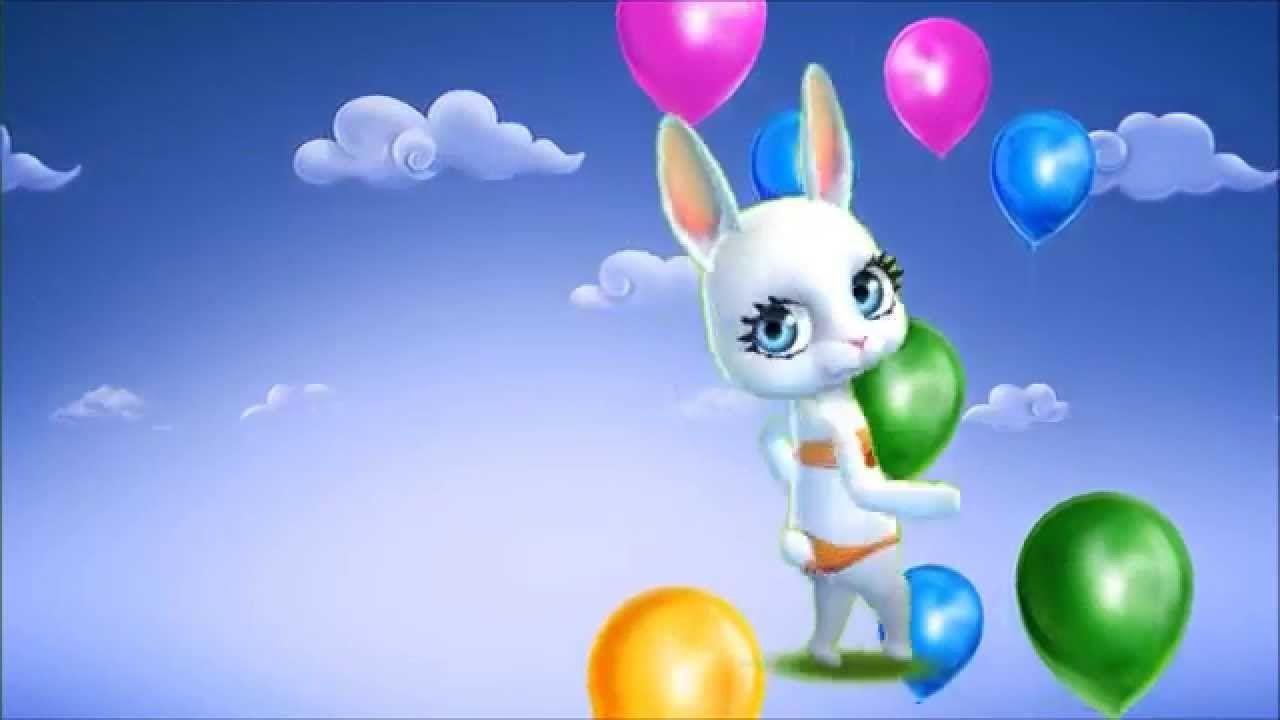 Поздравления с днем рождения заяц поет