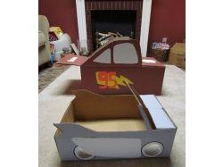 Поделки из картонных коробок фото