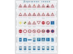Дорожные знаки для детей картинки распечатать