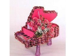 Красивые букеты из живых цветов фото картинки