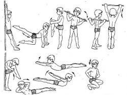 Упражнения при сколиозе у детей в картинках