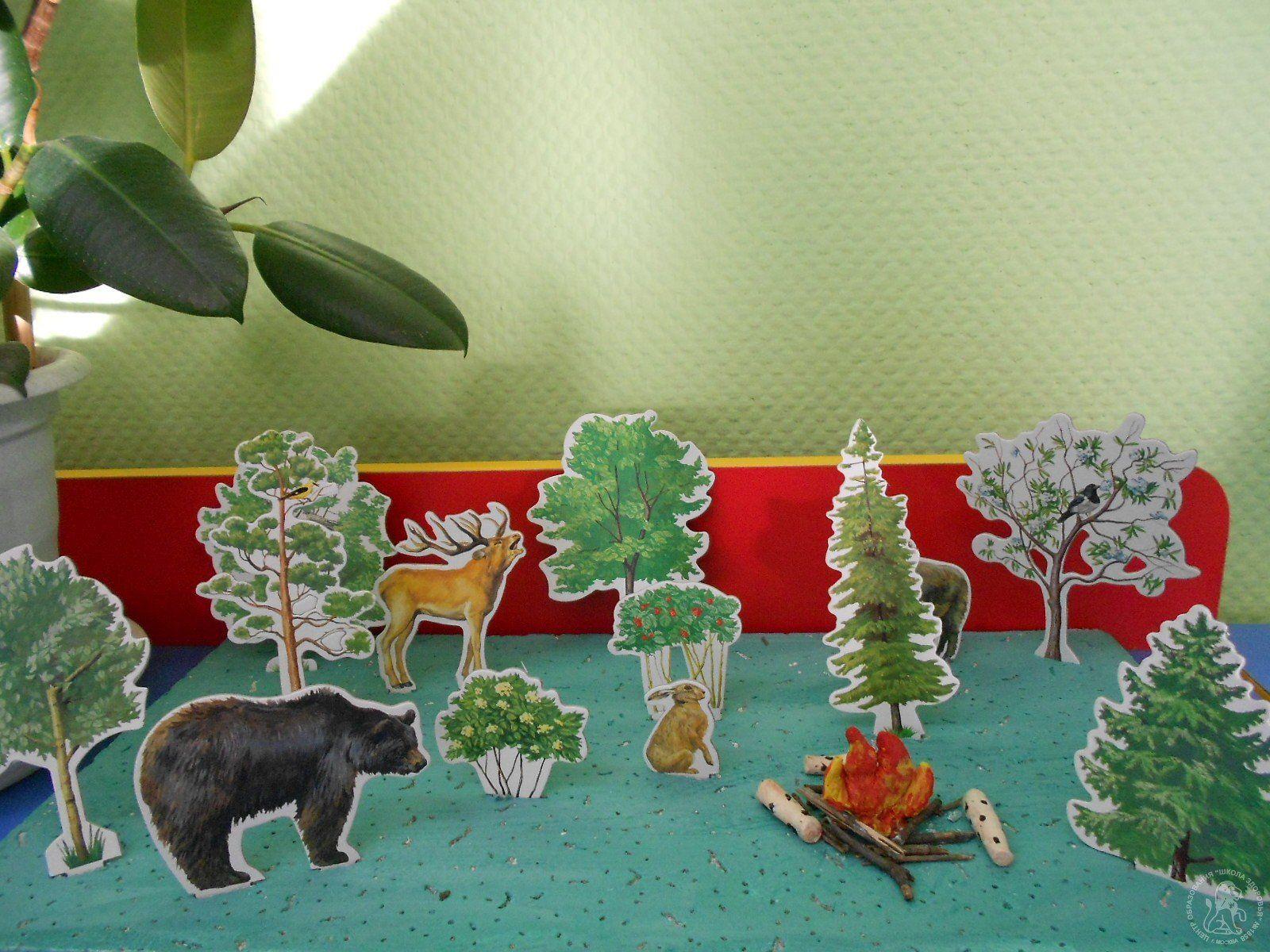 Поделка своими руками наш лес