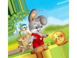 Картинки для детей сказка колобок