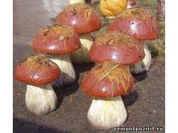 Поделки из грибов своими руками фото