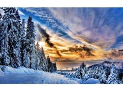 Обои рабочий стол зима природа