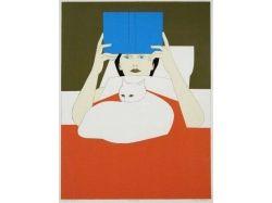 Картинка женщина с ребёнком читает книгу
