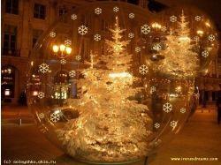 Обои на рабочий стол елки новогодние