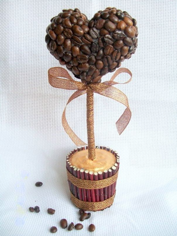 Кофейных зерен своими руками пошаговое